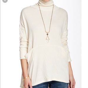 NWT Free People Long Flight Pullover Sweater
